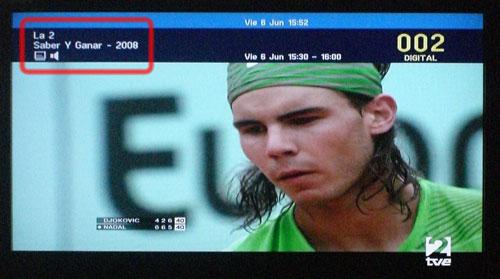 Rafa Nadal: 'Saber y ganar'