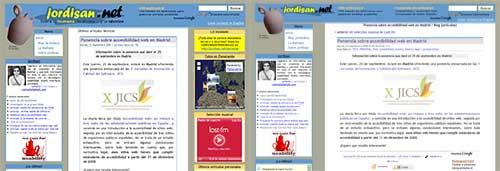 Capturas de jordisan.net