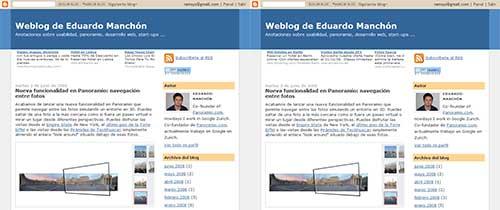 Capturas del blog de Eduardo Manchón
