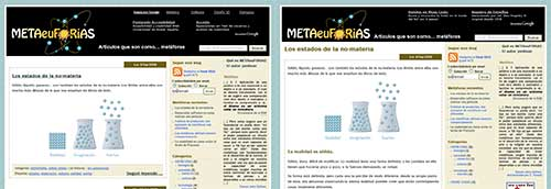 Capturas de METAeuFORiAS