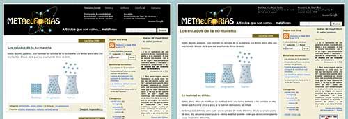 Capturas de METAeuFORiAS