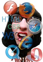 Confundido por los estándares web