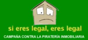 Campaña contra la piratería inmobiliaria