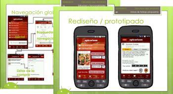 Analysis of Epicurious, a smartphone app