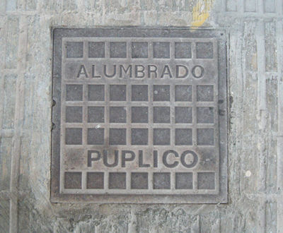 ALUMBRADO PUPLICO (sic)