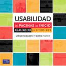 Libro 'Usabilidad de páginas de inicio', de Jakob Nielsen
