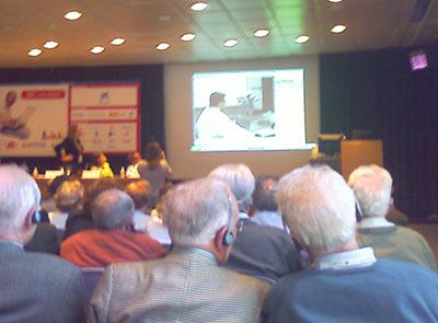 Sesión sobre Internet para personas mayores