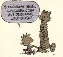 Viñeta de Calvin & Hobbes