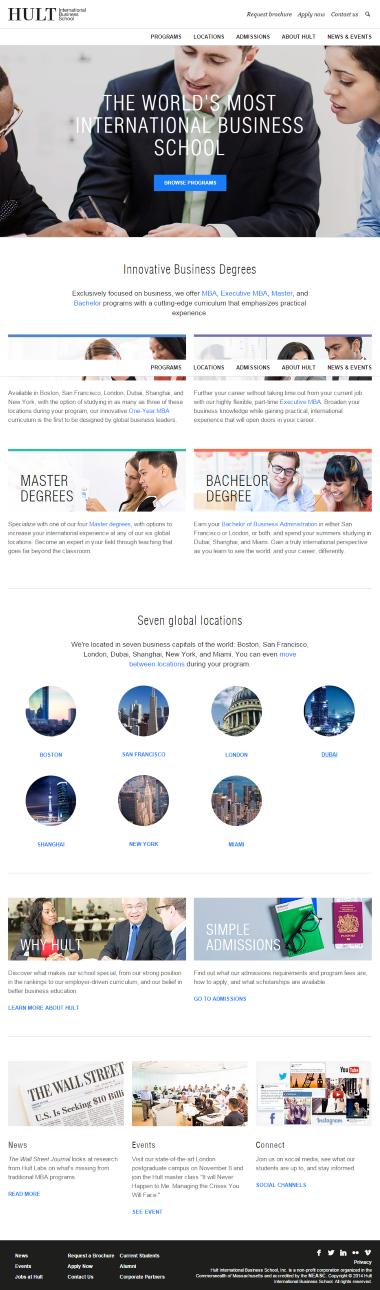 HULT website